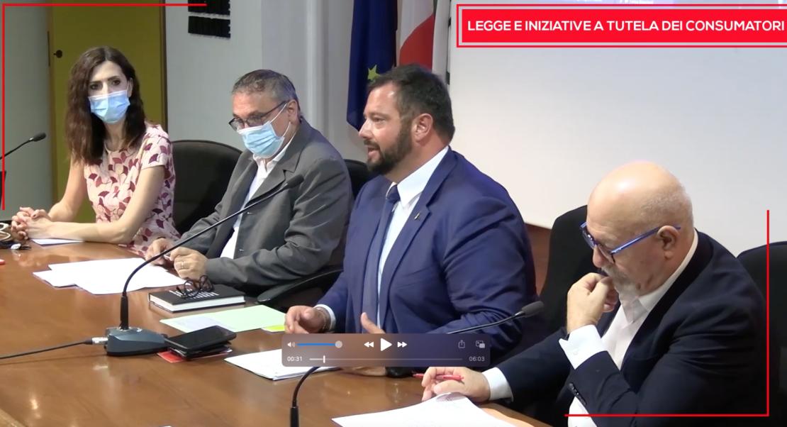 conferenza stampa legge regionale e nuovo sito Consumarche